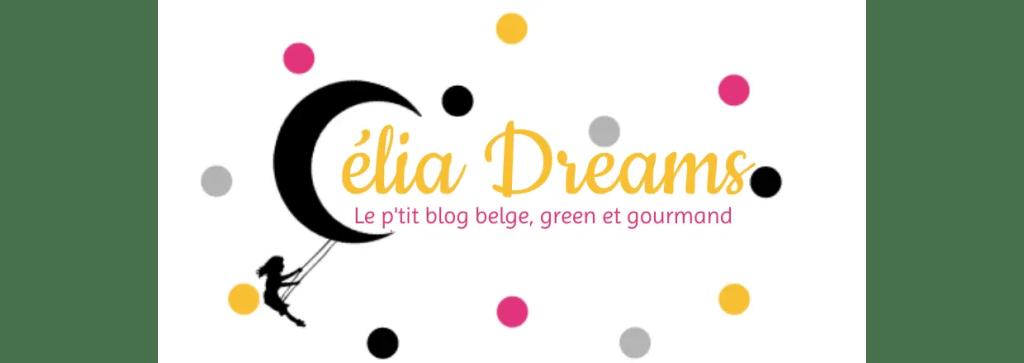 Banner Célia Dreams blog belge