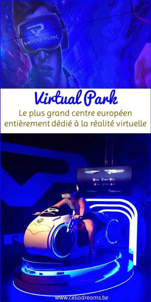 Virtual Park: centre de réalité vituelle (virtual room): avis et retour d'expériencer