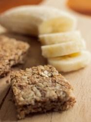 Flapjacks - recette de biscuits zéro déchet à la banane