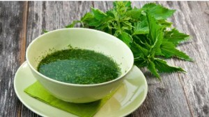 Soupe crue aux orties: recette détox et reminéralisante