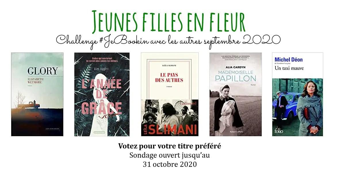 Challenge #JeBookin novembre2020