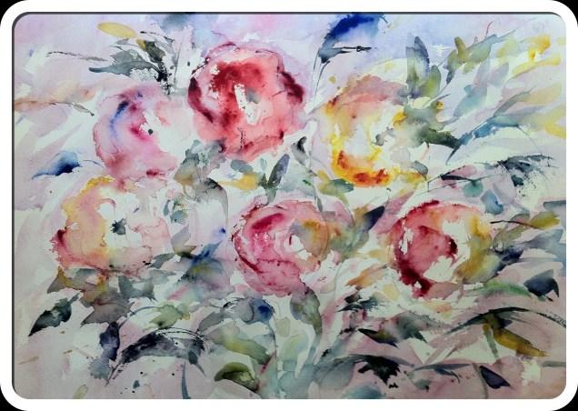 Mis flores para esa exposición