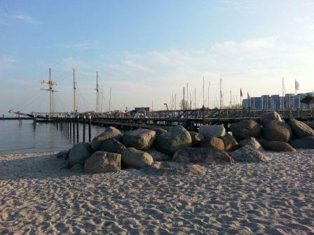 Strand und Hafen