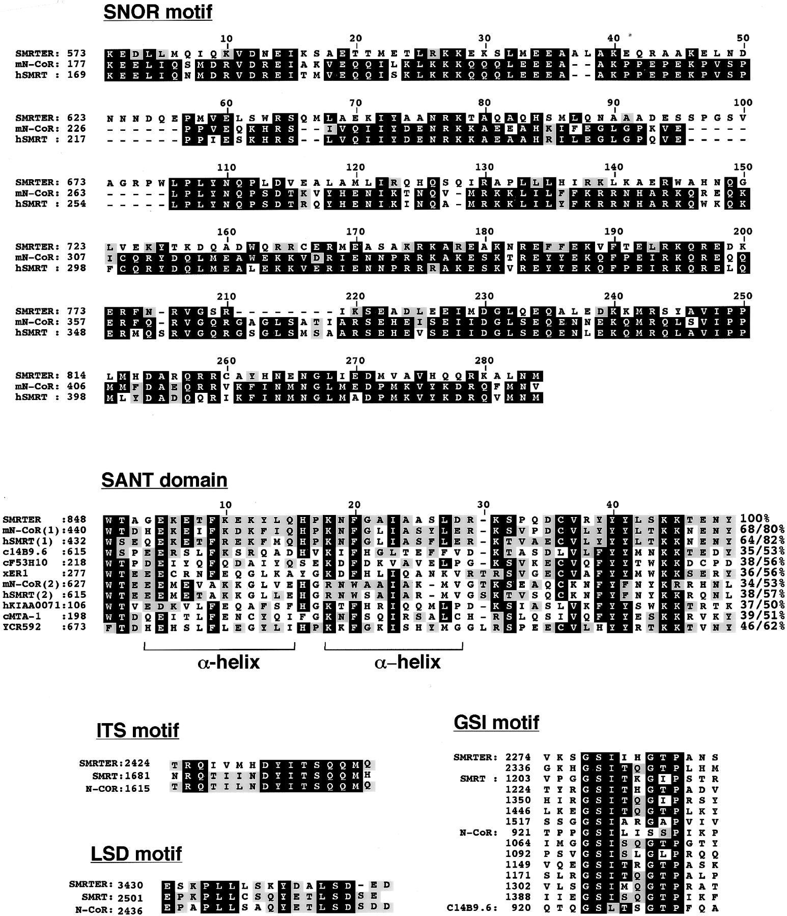Smrter A Drosophila Nuclear Receptor Coregulator Reveals