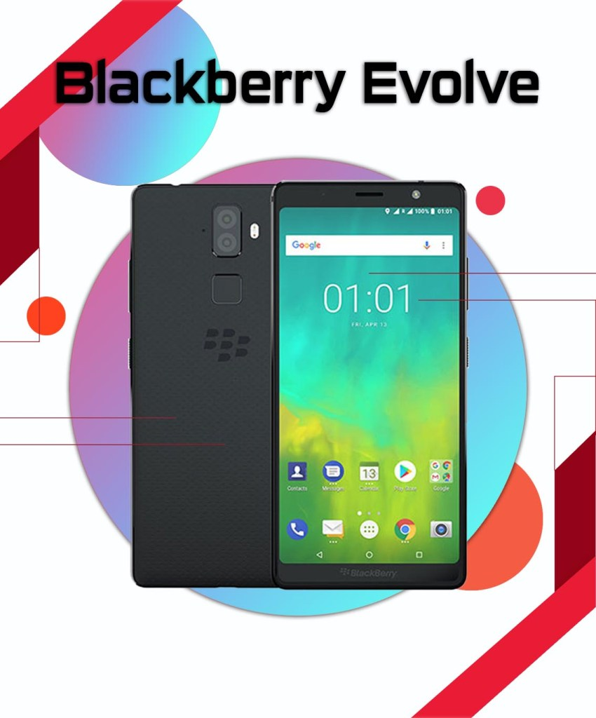 Blackberry Evolve Repair in Vancouver