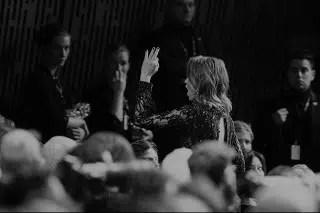 Adele Haenel actrice féministe part de la cérémonie des César