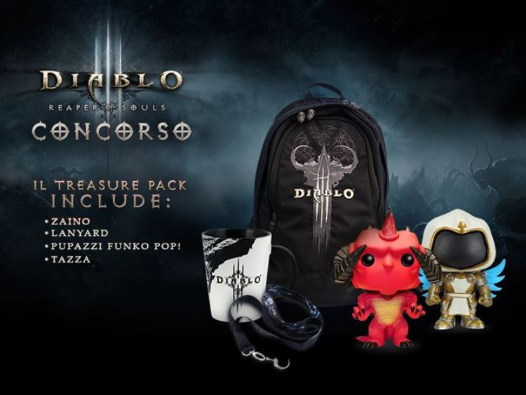 Vinci un Anniversary Treasure Pack di Diablo III