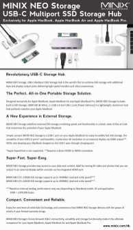 MINIX NEO Storage - Product Description