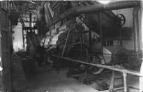 Binéfar, hacia 1955: la Algodonera, máquinas (fondo CELLIT)