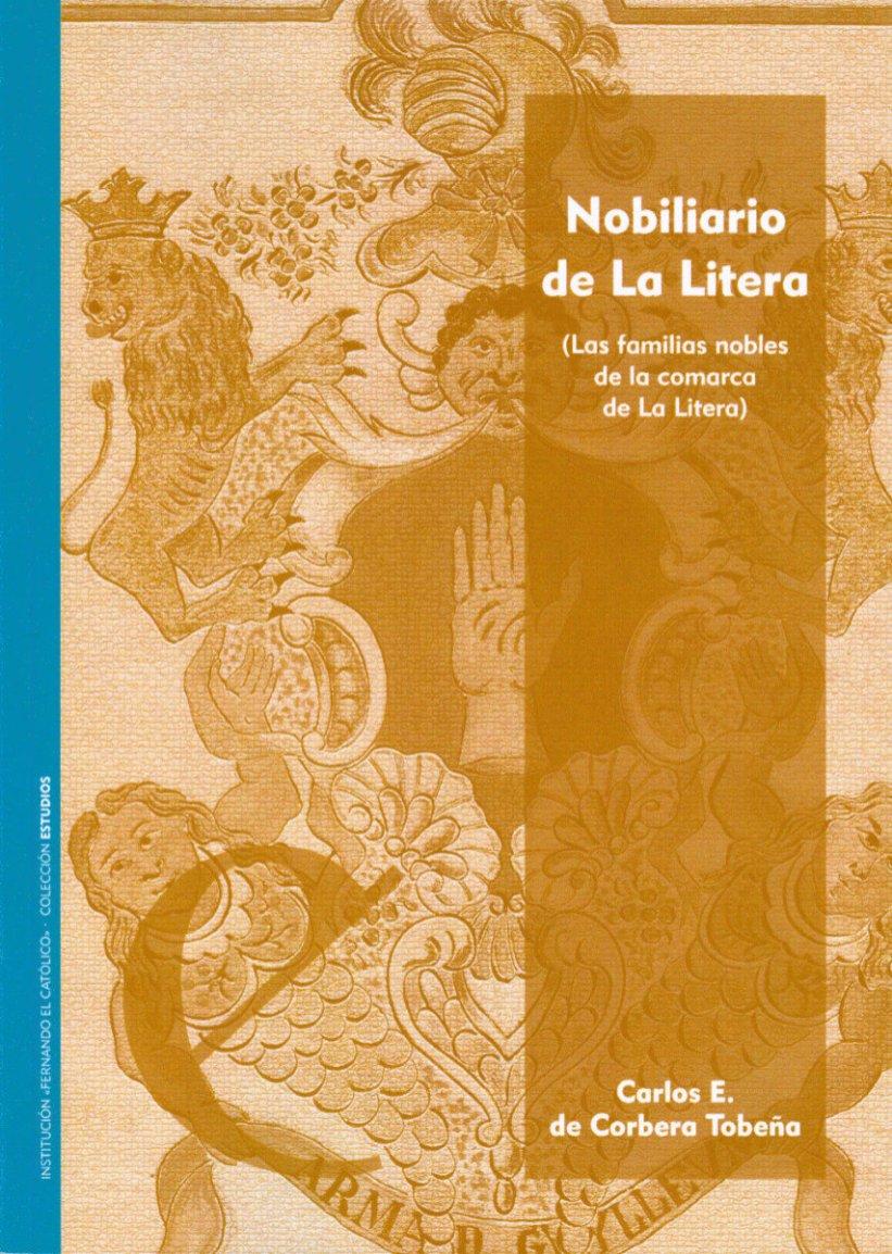 Primera de cubierta del libro 'Nobiliario de La Litera'