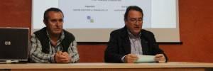 Presentación de la conferencia «Les voltes: tècniques constructives i singularitats» (foto Francesc Cussó)