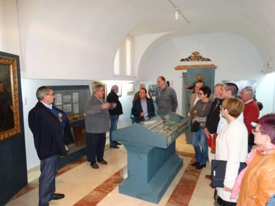 Visitando el museo