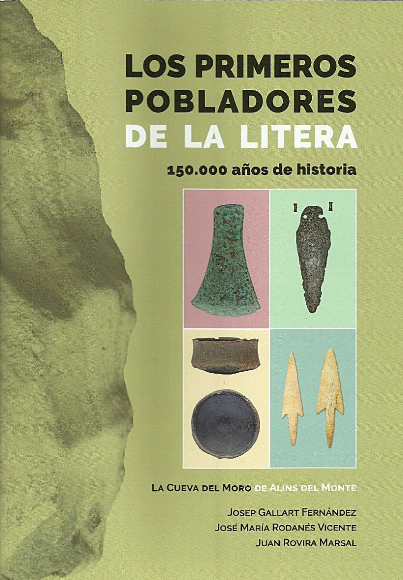 Primera de cubierta del libro 'Los primeros pobladores de la Litera'