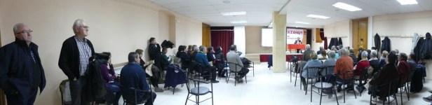 Panorámica de la conferencia «La nobleza en la Litera. Los Infanzones de Azanuy»
