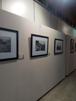 Aspecto de la exposición 'Jaime Pla, un literano corresponsal en la guerra de Marruecos' en Binéfar (2) (foto Silvia Isábal)