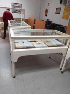 Vista parcial de la exposición del fondo «casa Notari»