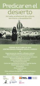 Cartel de la jornada 'Predicar en el desierto'