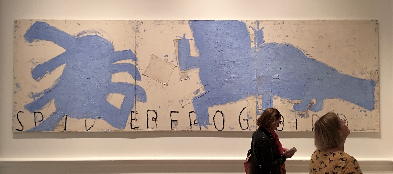 Rose Wylie Summer Exhibition Royal Academy reviewed at www.CELLOPHANELAND.com