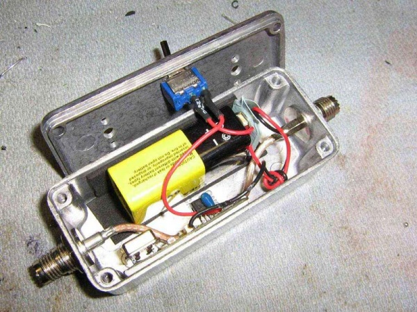 Battery and power switch