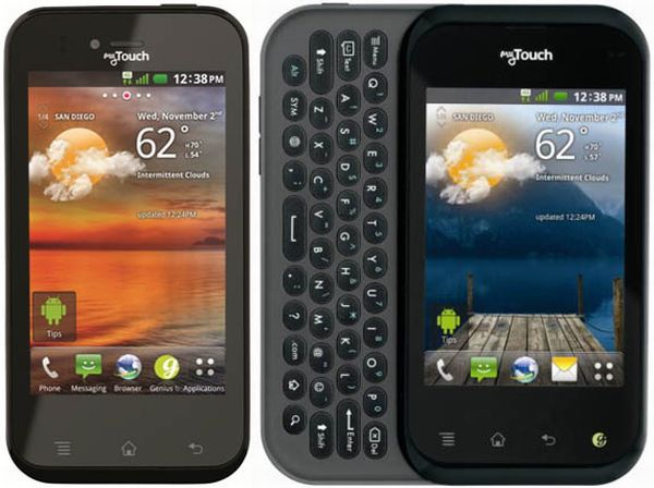 T-Mobile's LG myTouch smartphone