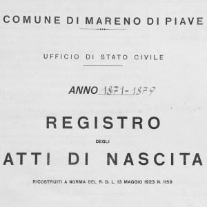 birth certificate record italy