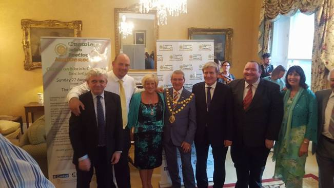 London Mayor and Ambassador with local councillors