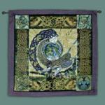 """Anu Earth Mother Fine Art Tapestry 35""""x35"""""""