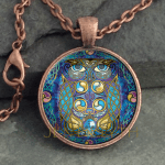 Glass Domed Owl-Round