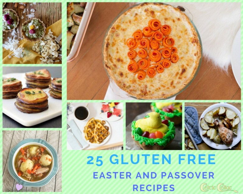 25 Gluten Free Easter and Passover Recipes