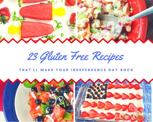 23 Gluten Free Recipes That'll Make Your Independence Day Rock