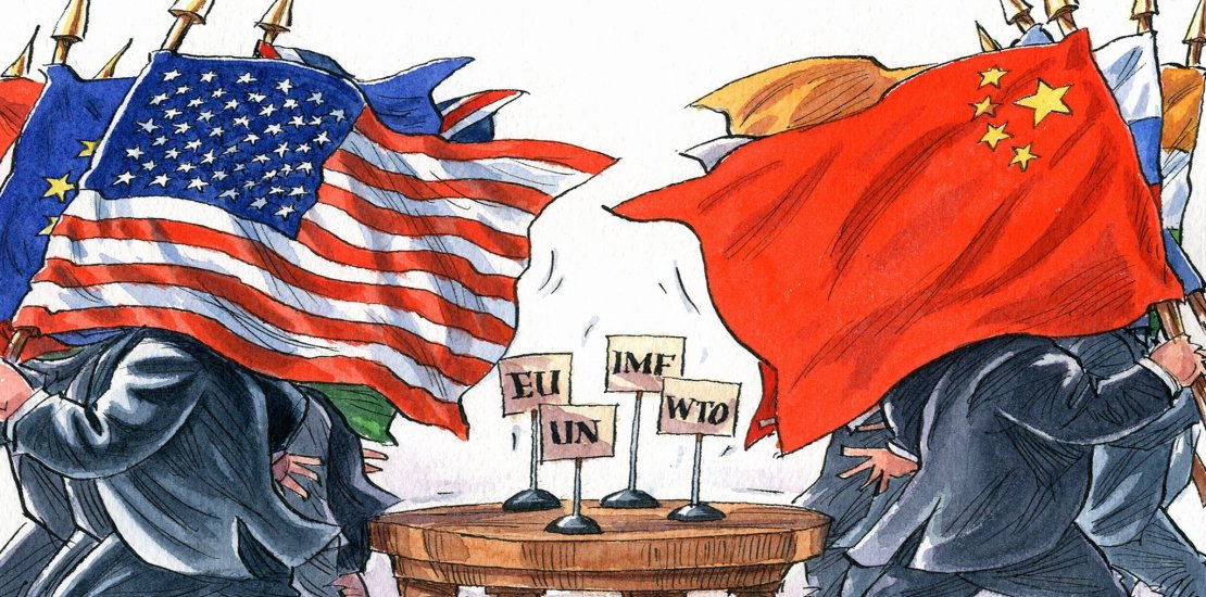 China and the USA in tradewars