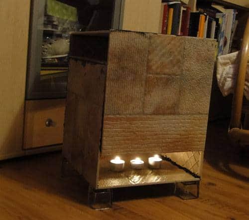 Teelichtofen selberbauen