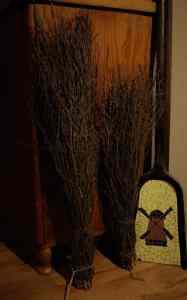 Reisigbesen aus Birke