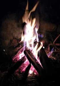 Feuer in der Sommersonnenwende
