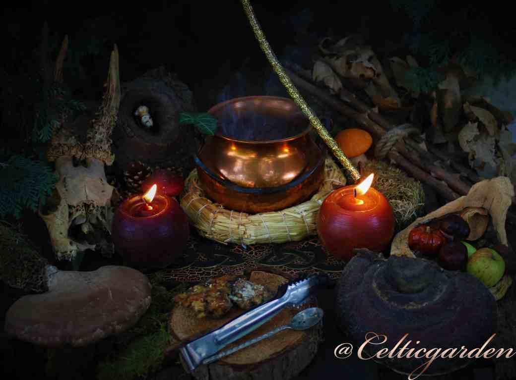Altar für die Herbst-Tagundnachtgleiche