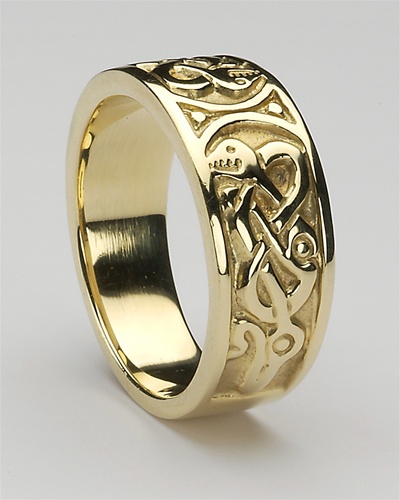 Mens Celtic Rings MG CTR2