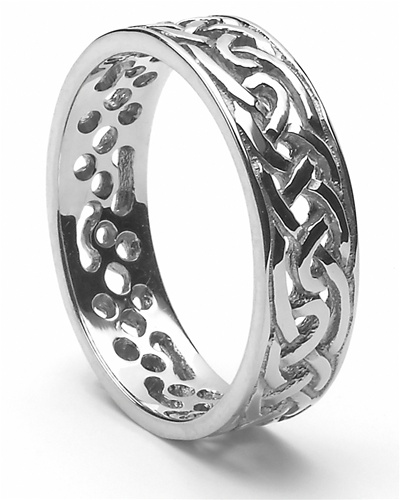 Mens Celtic Wedding Rings MS WED94