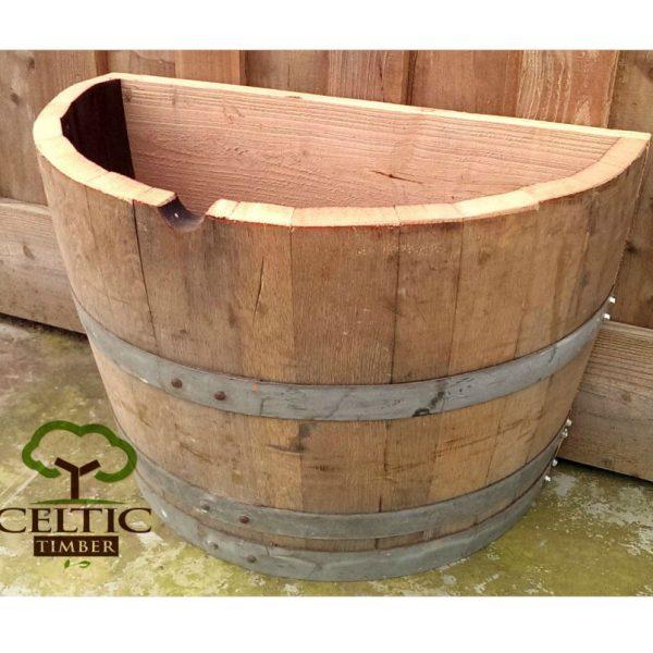 Half Basket Wall Planter