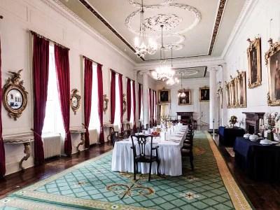 Dining Room in Dublin Castle, Ireland