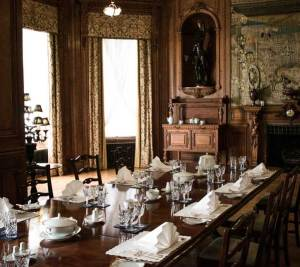 Dining Room in Farmleigh House, Dublin