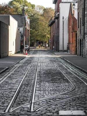 Old Railway Tracks, The Guinness Storehouse, Dublin