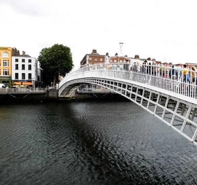 Ha'Penny Bridge, Dublin, Ireland