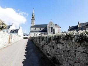 Church, Ile de Batz, France