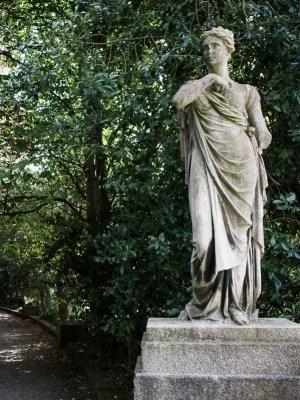 Statue in the Iveagh Gardens, Dublin
