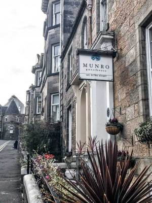 Munro Guest House in the heart of Stirling, UK