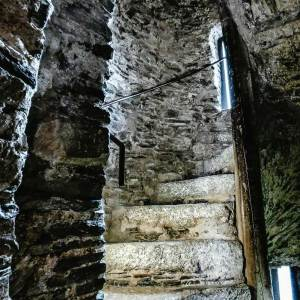Spiral Staircase inside Reginald's Tower in Waterford