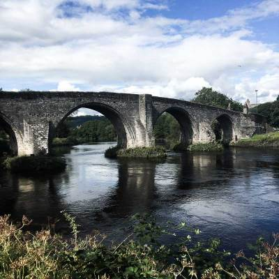 Stirling Old Bridge, Scotland