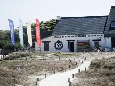Surf School, La Torche, Brittany