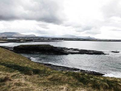 View over Bundoran, County Donegal