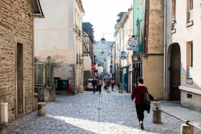 Rue Saint-Melaine in Rennes